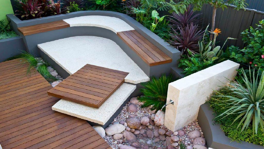 33 Stylist Landscape Garden and Backyard Design Ideas #4