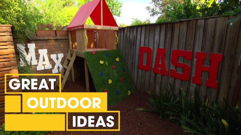 How To Make A Compact Kids Courtyard | Outdoor | Great Home Ideas