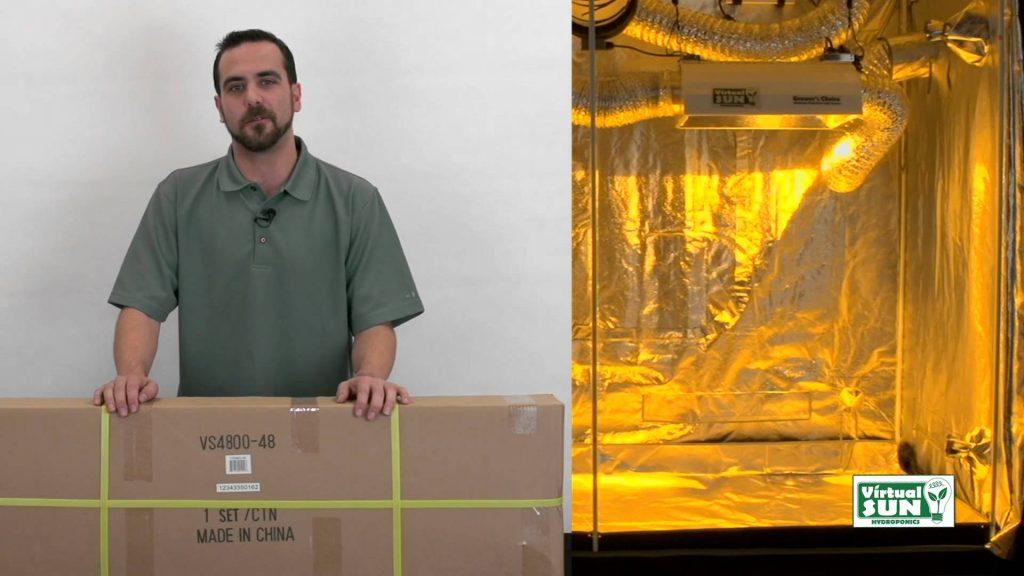 Virtual Sun Hydroponics Grow Tent