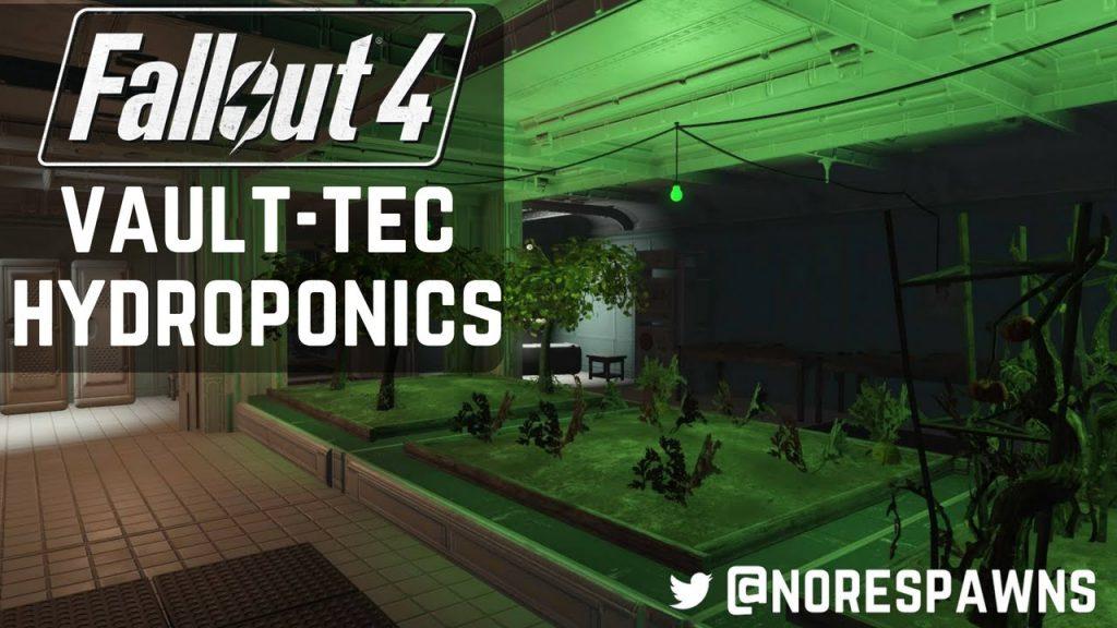 Fallout 4 Vault-Tec Workshop – Hydroponics