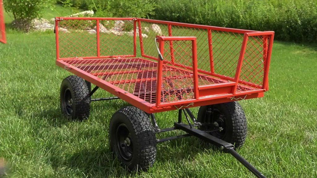 400-Lb. Steel Garden Wagon