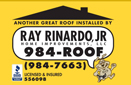 Website for Ray Rinardo Jr. Home Improvements, LLC