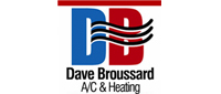 Website for Dave Broussard A/C & Heating