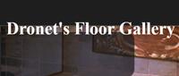 Website for Dronet's Floor Gallery, Inc.