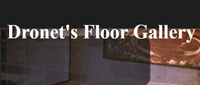 Website for Dronet's Floor Gallery, Inc.