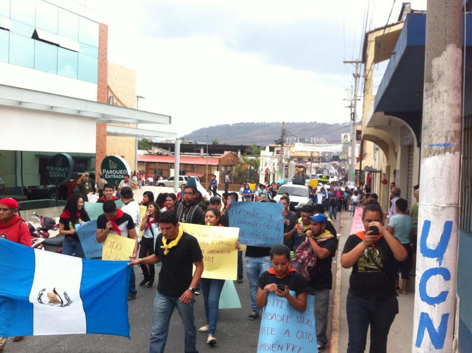 Guatemaltecos se manifestaron en departamentos y el extranjero