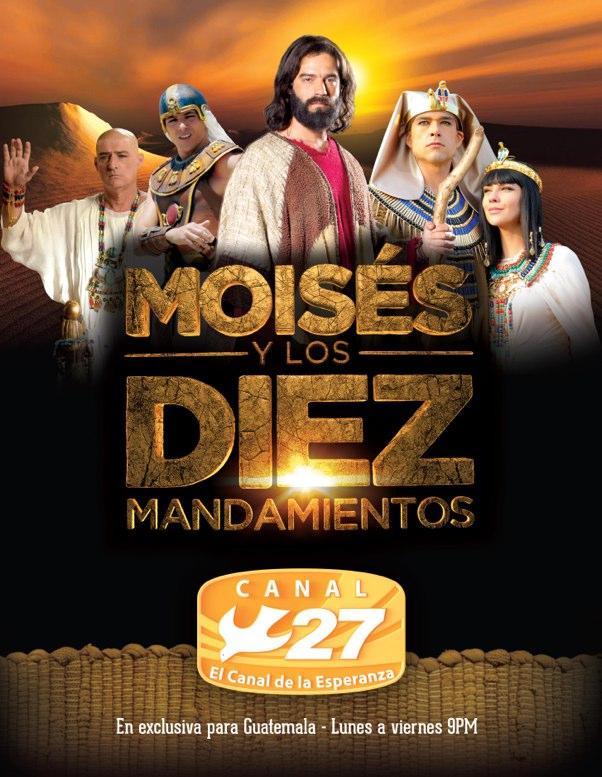 """Se estrena en Guatemala """"Moisés y los 10 mandamientos"""" - La Hora"""