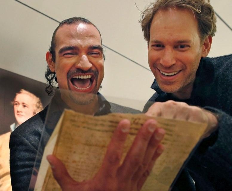 Cartas de Alexander Hamilton serán subastadas