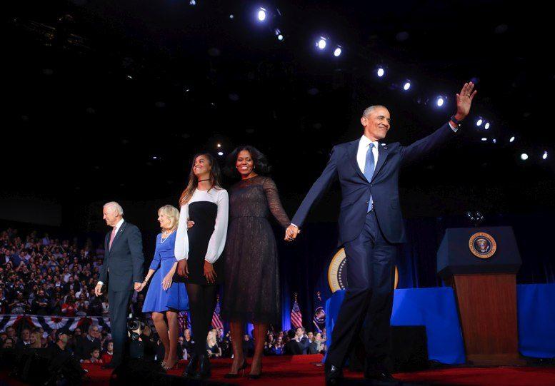 """""""Sí, lo hicimos""""; Obama se despide con nostálgico discurso"""