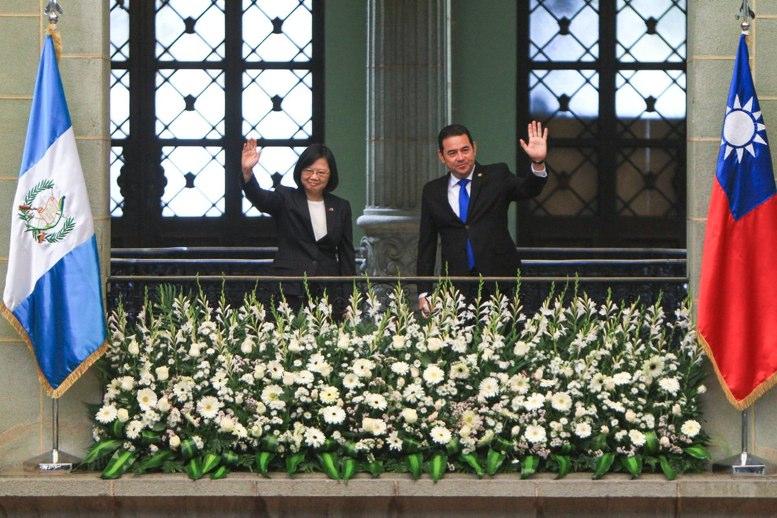 Presidenta de Taiwán se reúne con Morales