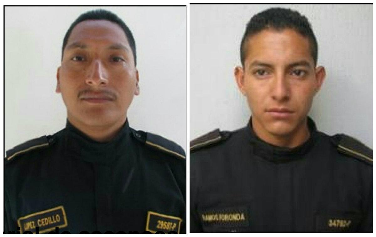 PNC de luto: dos agentes fueron atropellados y murieron