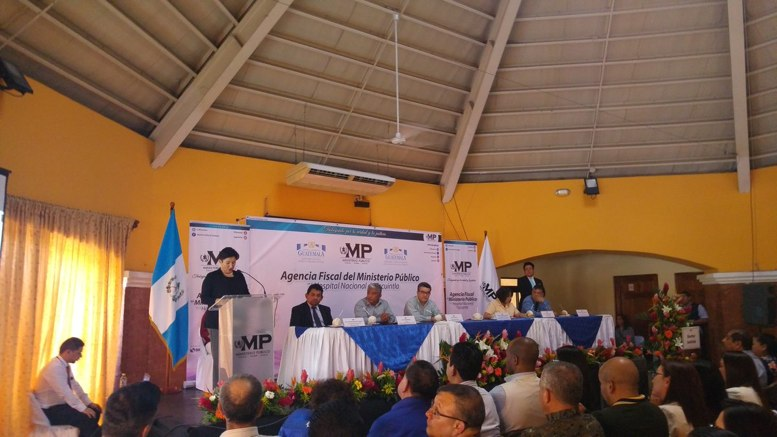MP inaugura agencia fiscal en Escuintla