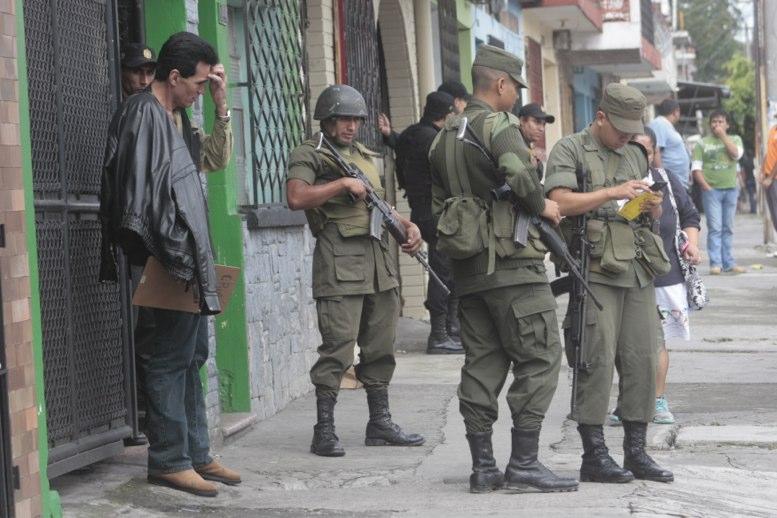 El 30 de abril más de 2 mil soldados abandonan la seguridad ciudadana