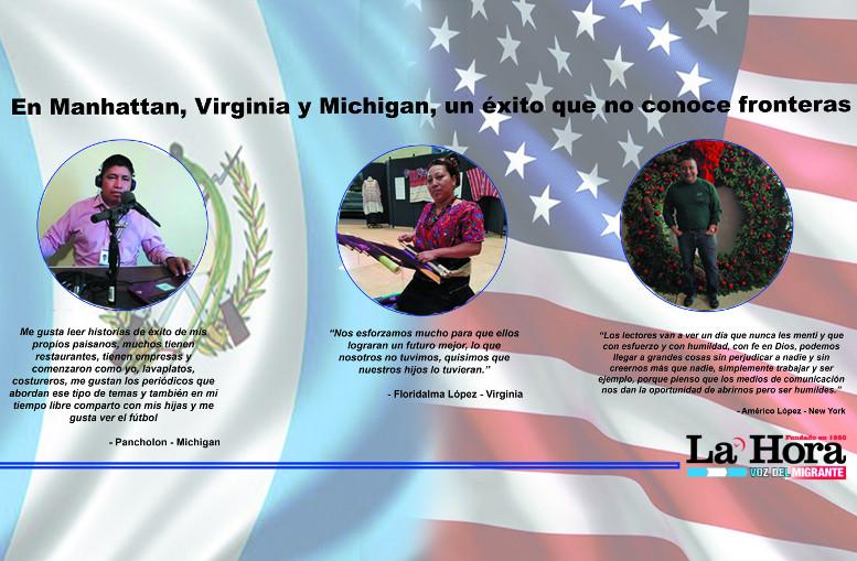 En Manhattan, Virginia y Michigan,  un éxito que no conoce fronteras