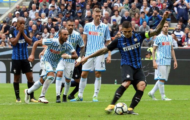 El Inter sigue en lo alto en el fútbol de Italia - La Hora 2b2d883989a34
