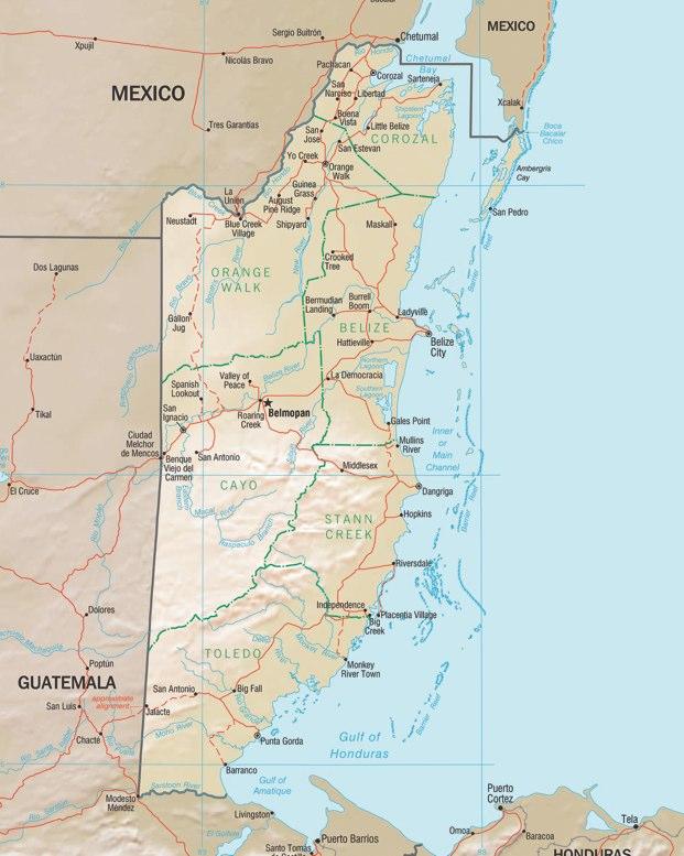 Belize vale unas buenas Guinness para borrar otras fronteras