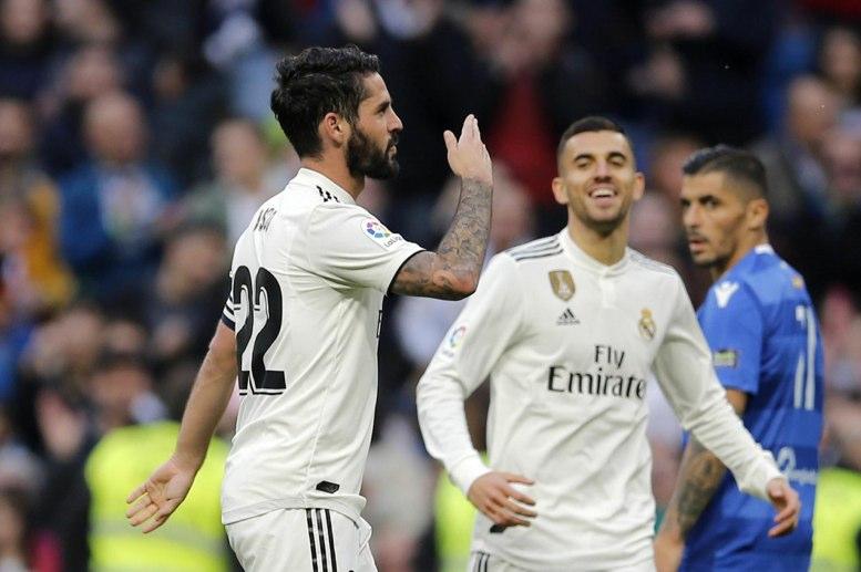 Primera Titularidad de Isco con Solari | Real Madrid - Melilla