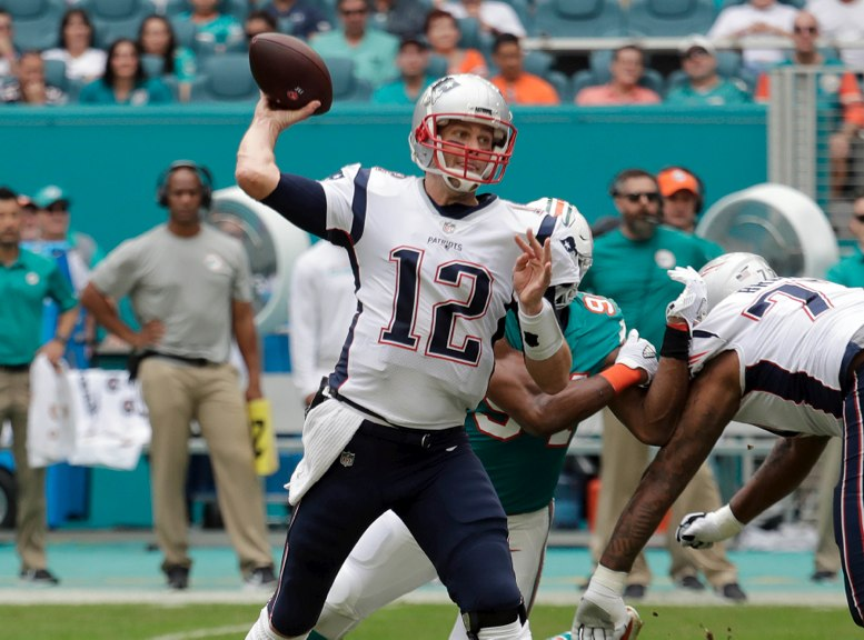 Tom Brady rompe el récord de la NFL con más touchdowns aéreos