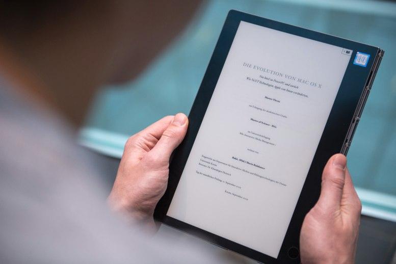 La Lenovo Yoga Book C930 a prueba: teclear en la pantalla