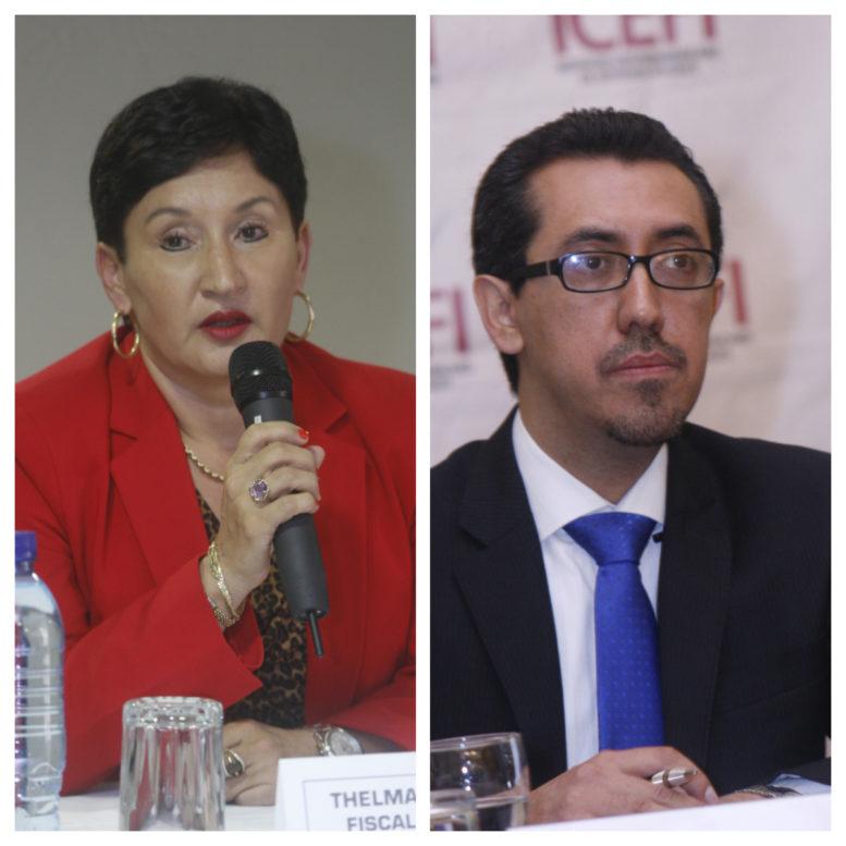 Thelma Aldana y Jonathan Menkos son el binomio de Semilla - La Hora