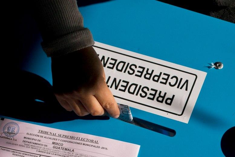 Resultado de imagen para votaciones guatemala