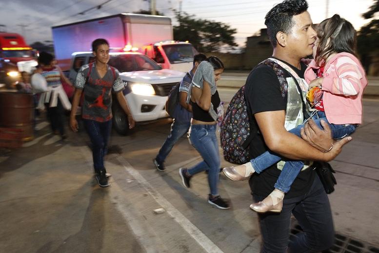 Caravana migrante: Muere niña guatemalteca en CdMx