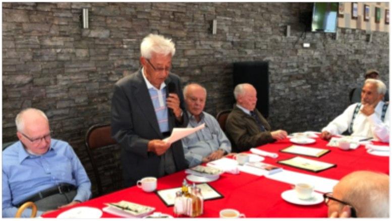 FOTO LA HORA. De izquierda a derecha doctores: Cossich, Estrada, Sosa Montalvo, Carlos de la Riva y Ramiro Fonseca.