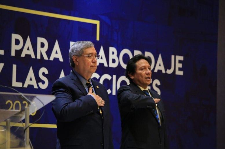 Jafeth Cabrera repite discurso de Arzú sobre ley de impunidad - La Hora