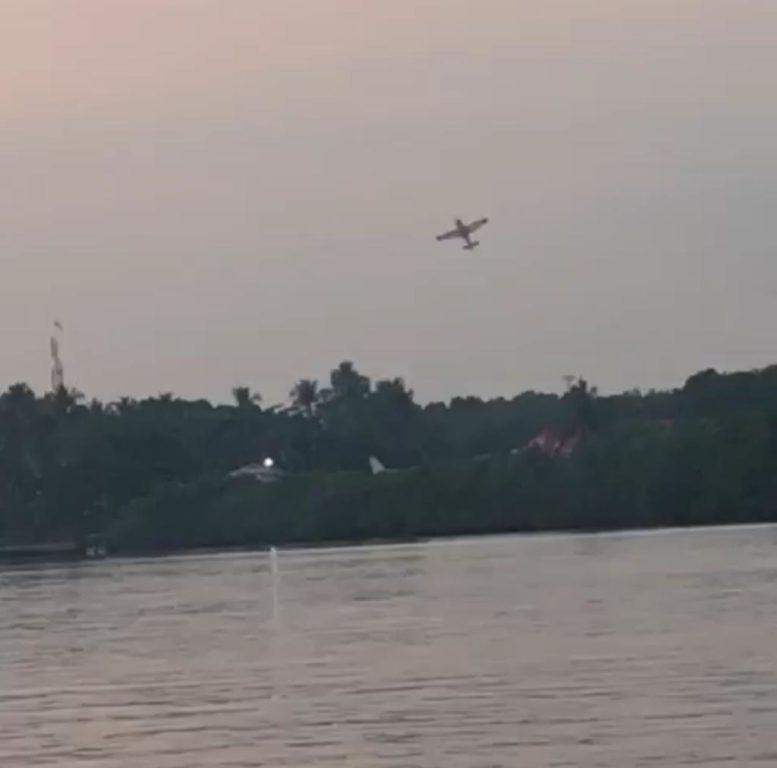 Avioneta cae y deja muertos y heridos en Iztapa, Escuintla