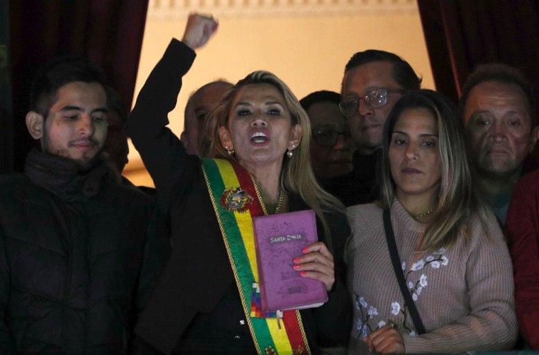 Áñez recibe críticas por libertad de expresión en Bolivia - La Hora