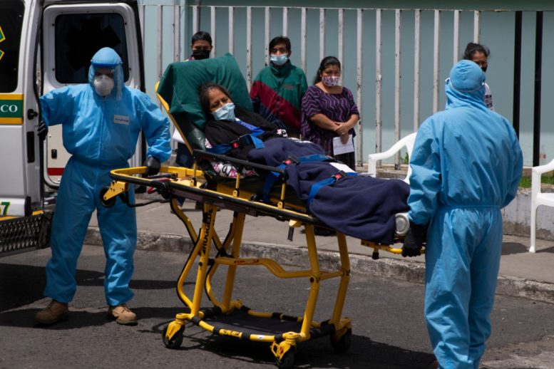 Continúa escalada diaria de la Covid-19 en Guatemala, récord de 617