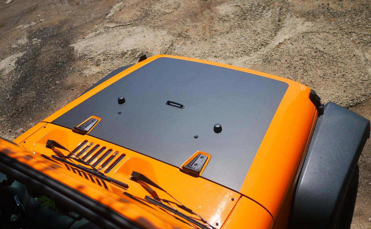 Matte Black Hood Decal Jeep Wrangler Forum