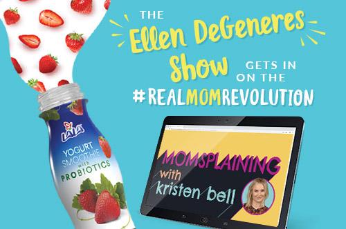 The Ellen DeGeneres Show gets in on the Real Mom Revolution