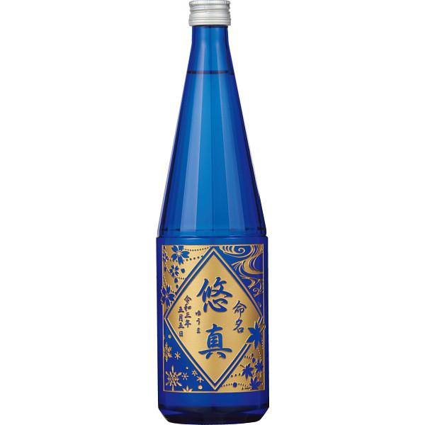 【直送】誕生記念の日本酒 上善如水720ml(お名入れ)/のし包装・ベビーカード不可商品