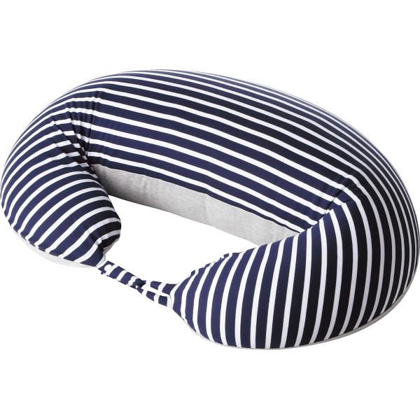 ミキハウス マルチクッション紺×白/のし・包装不可商品