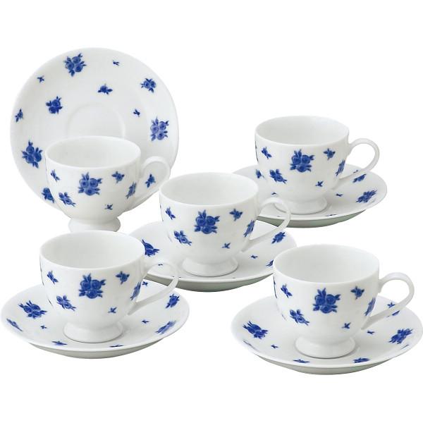 プリンセスローザ コーヒー碗皿5客セット