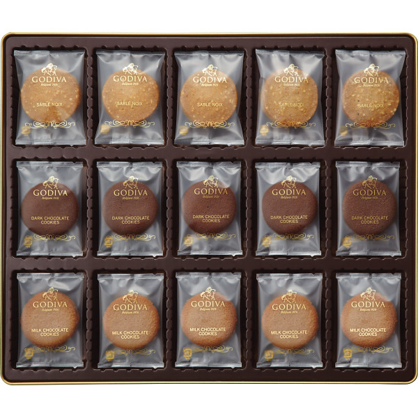 ゴディバ クッキーアソートメント(55枚)