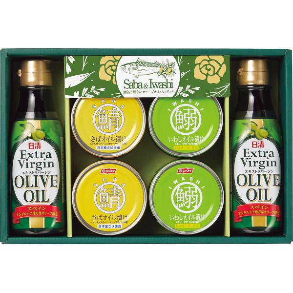 鯖缶と鰯缶とオリーブオイルのギフト/入荷予定:7月20日以降