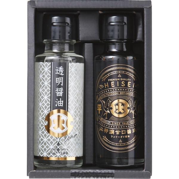 平成・透明醤油2本詰合せ/入荷予定1月30日以降