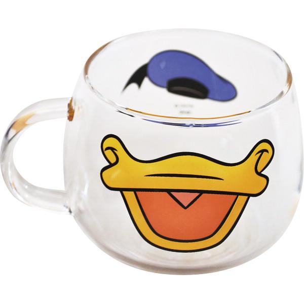 ディズニー 耐熱ガラスマウスマグ<ドナルド>