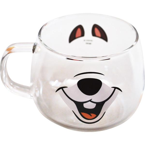 ディズニー 耐熱ガラスマウスマグ<チップ>