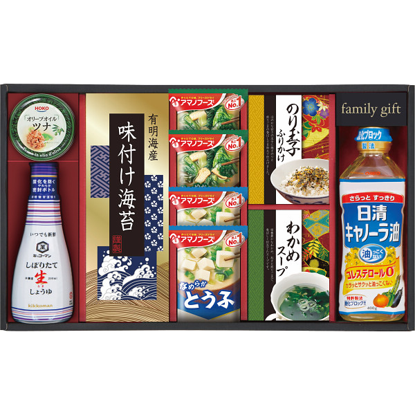 日清キャノーラ&食卓バラエティセット