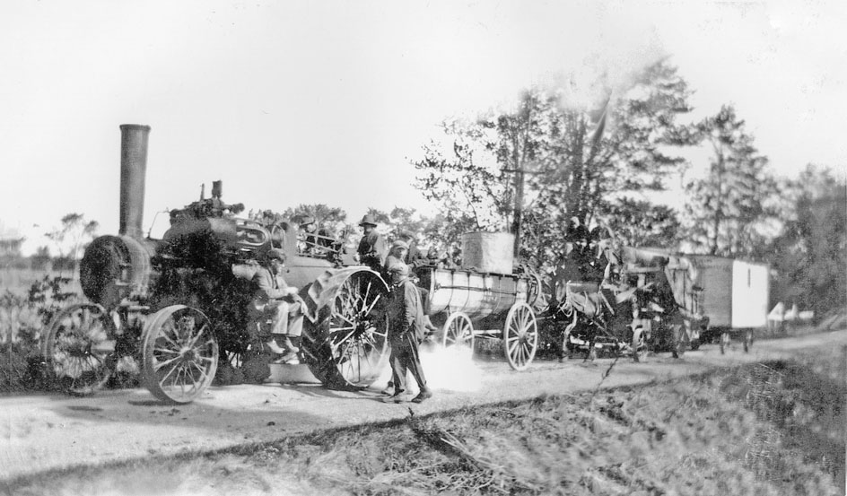 Threshing Caravan