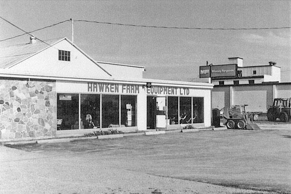 Hawken Massey-Ferguson Farm Equipment, Arkona