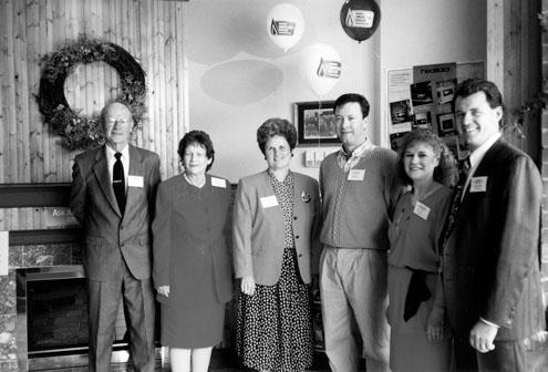 Opening of H.E. Zavitz Electrical & Heating Inc., Watford, 1994