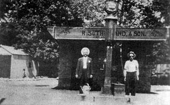 Sutherland gas station