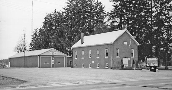 Warwick Twp. Hall and Fire Hall, 2004