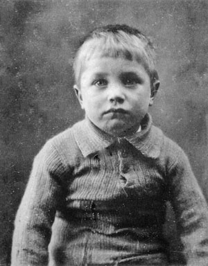 Cyril Hewitt, age 4