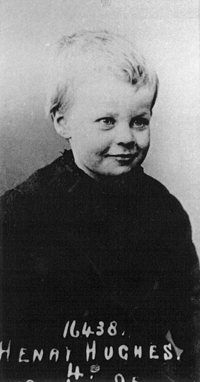 Harry H. Hughes, age 4