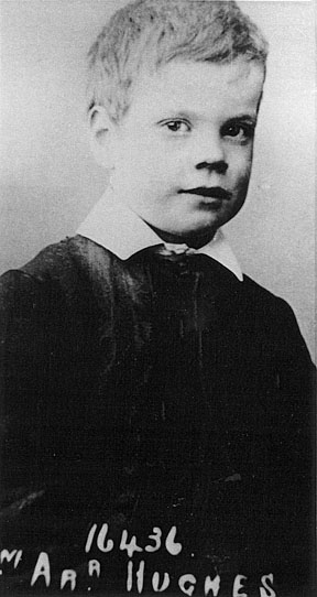 William Hughes, age 8